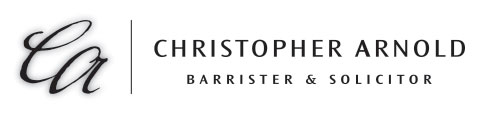 Christopher Arnold, Barrister & Solicitor Logo